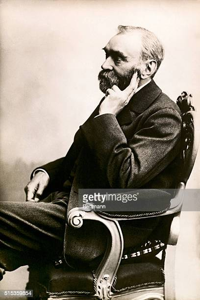Alfred Bernhard Nobel Swedish chemist and industrialist inventor of dynamite and the founder of the Nobel Prize