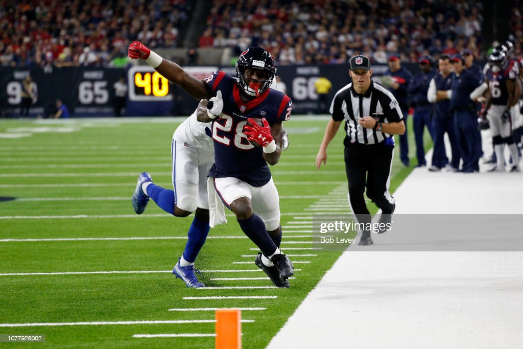 Wild Card Round - Houston Texans v Indianapolis Colts : News Photo