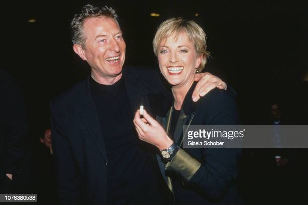 Alfred Bremm and Ulla Kock am Brink attend the 'Late Show' Premiere in February 1999 in Cologne Germany