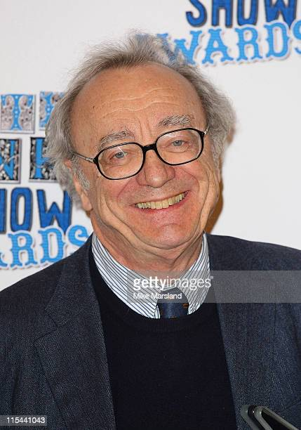 Alfred Brendel with his Classical Music Award for his 'Retirement Concerts' during the South Bank Show Awards 2009 at the Dorchester Hotel on January...