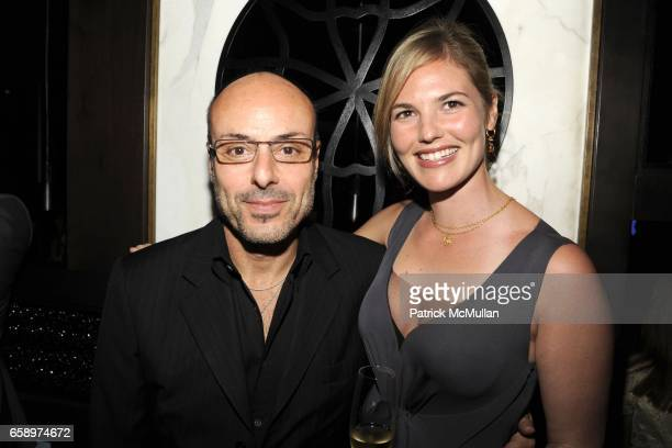 Alfred Corcale and Sophie Leibowitz attend HAKKASAN Opening at Fontainebleau Hotel on April 19 2009 in Miami Beach FL