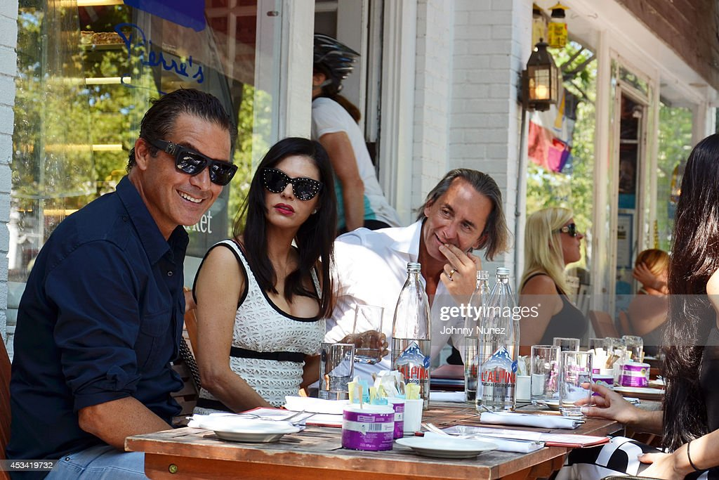 Adriana De Moura Sighting In Bridgehampton : News Photo