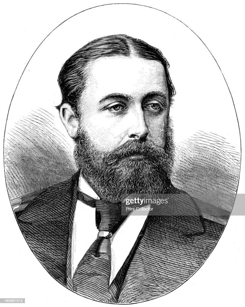 Alfred, Duke of Edinburgh, 1900. : News Photo