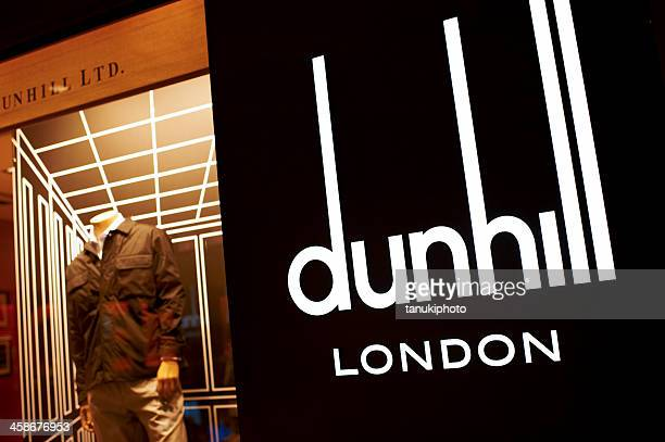 alfred dunhill shop - dunhill designer label stock pictures, royalty-free photos & images
