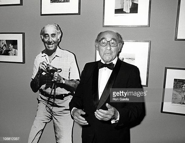Alfred Eisenstaedt during International Center of Photography 12th Annual Awards at International Center of Photography in New York City, New York,...
