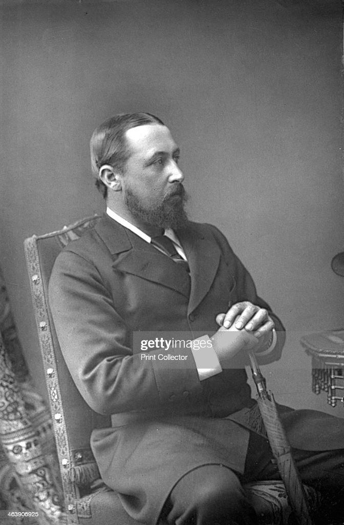 Alfred Ernest Albert, Duke of Edinburgh (1844-1900), British prince, c1890. : News Photo
