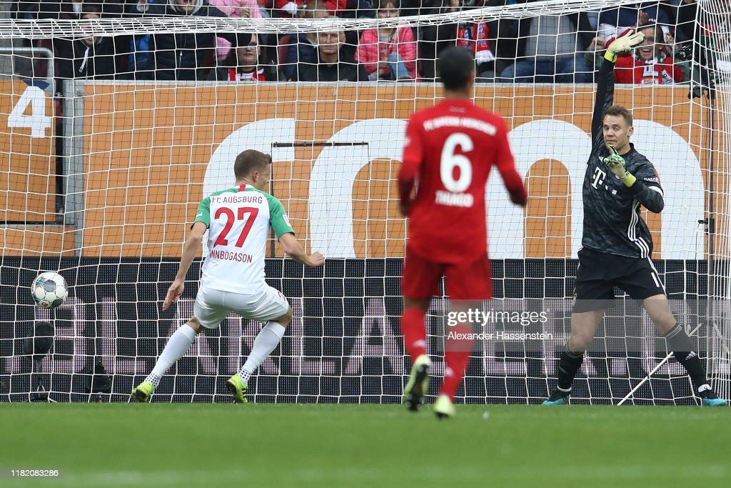 FC Augsburg v FC Bayern Muenchen - Bundesliga : ニュース写真
