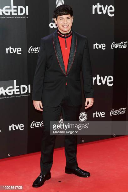 Alfred Garcia attends Odeon Awards 2020 at Royal Theater on January 20 2020 in Madrid Spain