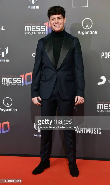 Alfred Garcia attends the Cirque Du Soleil inspired by Leo Messi premiere at Camp Nou FC Barcelona football stadium on January 31 2019 in Barcelona...