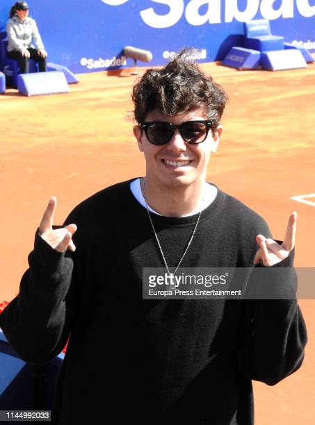 Alfred Garcia attends the Conde de Godo tournament on April 24 2019 in Barcelona Spain