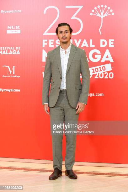 Alfred Garcia attends the photocall on the sixth day of the Malaga Film Festival 2020 on August 26, 2020 in Malaga, Spain.