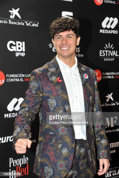Alfred Garcia during the photocall for 'People in Red' gala held at the Museu Nacional d'Art de Catalunya on November 19 2018 in Barcelona Spain