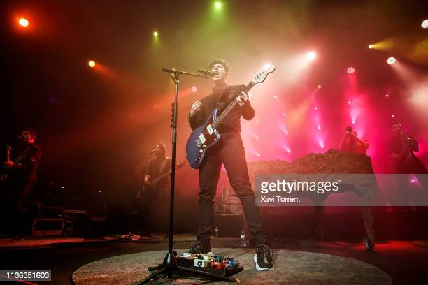 Alfred Garcia performs on stage at Barts during the Share Festival on April 11 2019 in Barcelona Spain