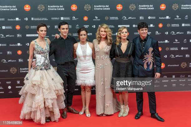 Alfred Garcia poses during a photocall for the Gaudi Awards 2019 held at the Palau de Congressos on January 27 2019 in Barcelona Spain