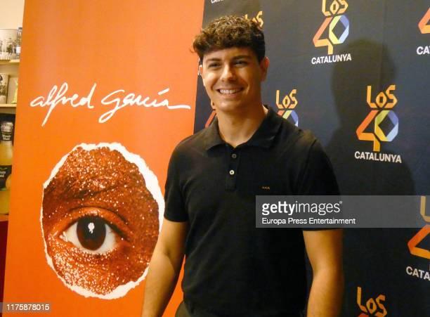 Alfred Garcia presents 'El Circulo Rojo' on September 19, 2019 in Barcelona, Spain.