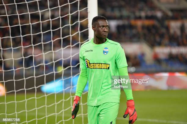 Alfred Gomis during the Italian Serie A football match between AS Roma and Spal at the Olympic Stadium in Rome on december 01 2017