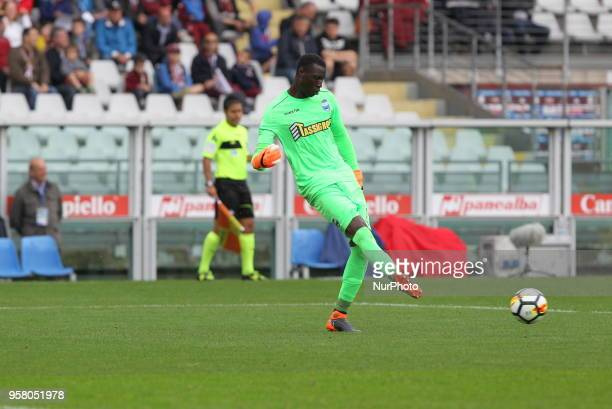 Alfred Gomis during the Serie A football match between Torino FC and SPAL at Olympic Grande Torino Stadium on May 13 2018 in Turin Italy