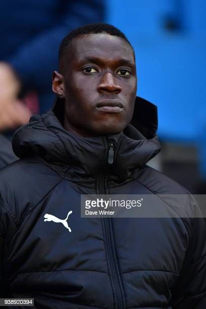 Alfred Gomis of Senegal during the international friendly match match between Senegal and Bosnia Herzegovina on March 27 2018 in Le Havre France