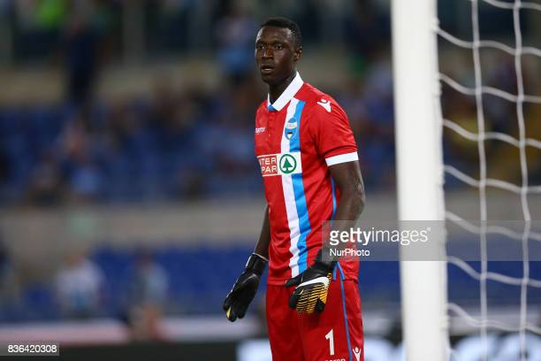Alfred Gomis of Spal during the Serie A match between SS Lazio and Spal at Olimpico Stadium on August 20 2017 in Rome Italy