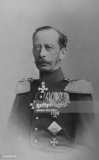 Alfred Graf von SCHLIEFFEN*28021833Offizier D Chef des Generalstabs 18911905Portrait 1891