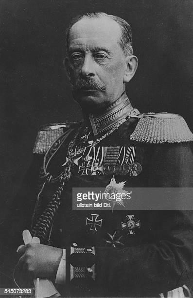 Alfred Graf von SCHLIEFFEN*28021833Offizier D Chef des Generalstabs 18911905Portrait 1909