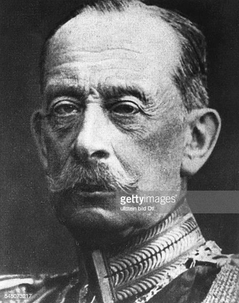 Alfred Graf von SCHLIEFFEN*28021833Offizier D Chef des Generalstabs 18911905Portrait undatierte Aufnahme um 1909