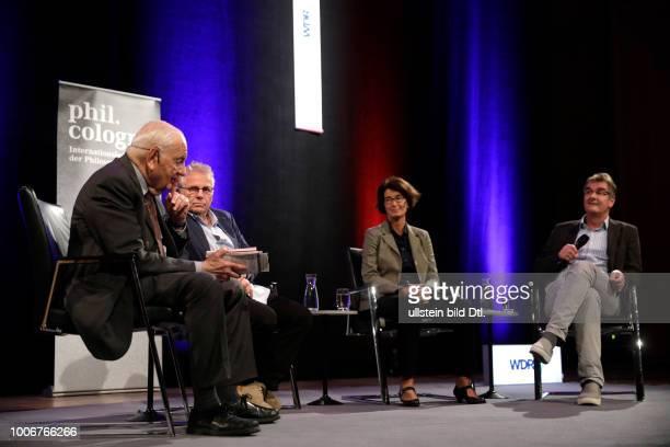 Alfred Grosser Daniel CohnBendit und Patrizia Nanz sprechen über das Thema Wo stehen wir zur Eröffnung der fünften philcologne Moderation Jürgen...