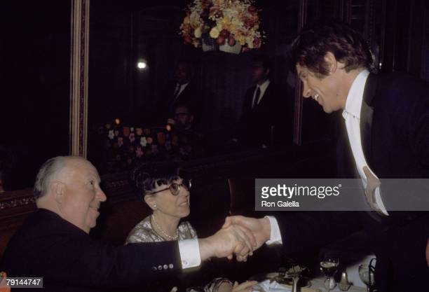 Alfred Hitchcock Edith Head and Warren Beatty