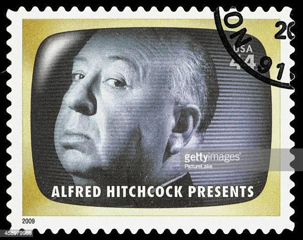 米国アルフレッド・ヒッチコックは郵便切手 - アルフレッド・ヒッチコック ストックフォトと画像