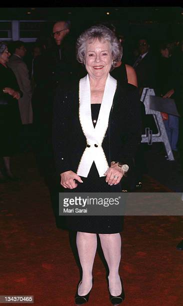 Alfred Hitchcock's daughter during Old Classic Movie Premiere at Zeigfeld Theater in New York City New York United States