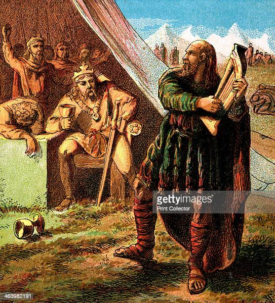 'Alfred In The Danish Camp' Alfred was king of the southern AngloSaxon kingdom of Wessex from 871899 AD Here Alfred in disguise sings to Guthrum the...