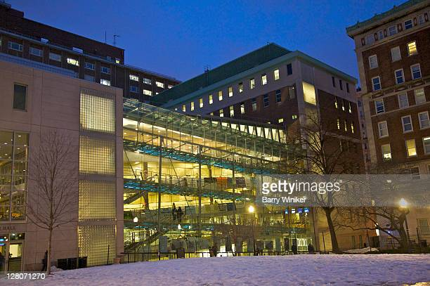 alfred lerner hall, columbia university, upper west side, morningside heights, new york, ny, usa - 1999 stock pictures, royalty-free photos & images