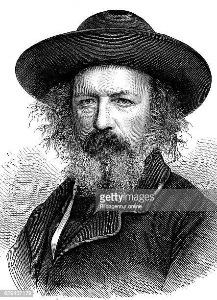 Alfred lord tennyson 1st baron tennyson 1809 1892 british victorian poet historical illustration circa 1893