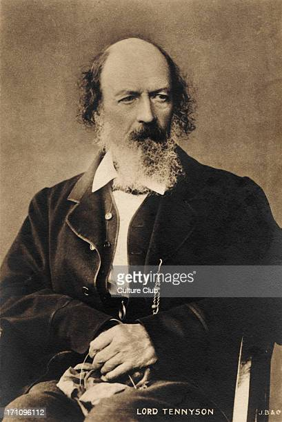 Alfred Lord Tennyson - English poet laureate. Author of The Lady of Shallott, 1809-1892