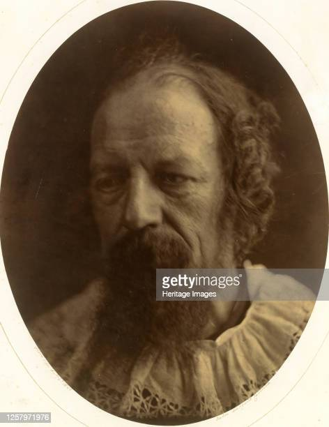 Alfred Lord Tennyson July 4 1866 Artist Julia Margaret Cameron