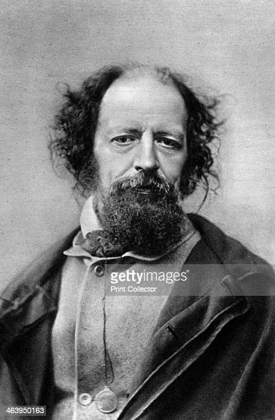 Alfred, Lord Tennyson, Poet Laureate of the United Kingdom, c1867. Tennyson was born at Somersby, Lincolnshire. In 1850 he was appointed Poet...