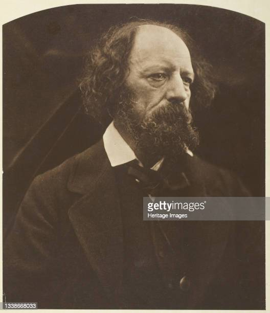 Alfred, Lord Tennyson printed 1875. A work made of carbon print. Artist Julia Margaret Cameron.