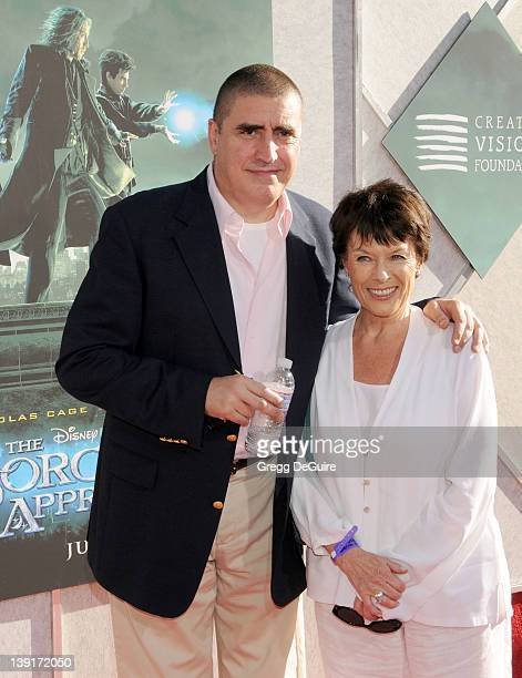 Alfred Molina and Jill Gascoine arrive at The Sorcerer's Apprentice Special Advance Screening at Walt Disney Studios Main Theatre on July 12 2010 in...