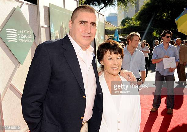 Alfred Molina and Jill Gascoine attends benefit screening of The Sorcerer's Apprentice at Walt Disney Studios on July 12 2010 in Burbank California