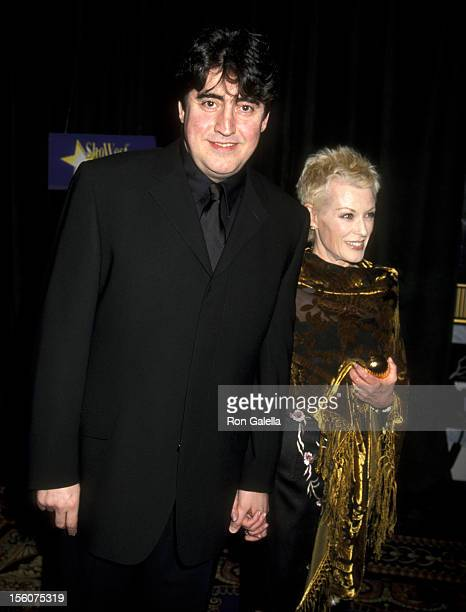 Alfred Molina and Jill Gascoine during 2001 ShoWest Convention at Paris Hotel in Las Vegas Nevada United States