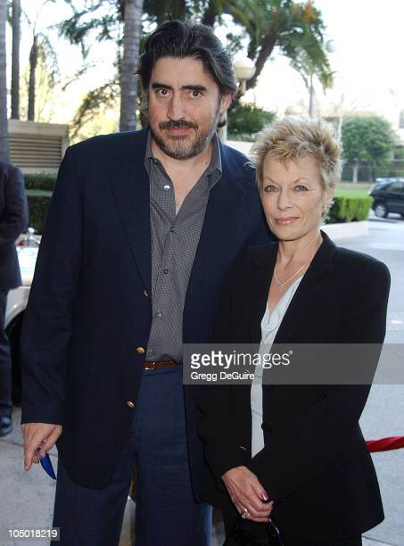 Alfred Molina and wife Jill during The 9th Annual BAFTA/LA Tea Party at Park Hyatt Hotel in Los Angeles, California, United States.