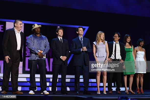 Alfred Molina Ving Rhames Jamie Bamber President and head of programming for TNT TBS and TCM Michael Wright Jennifer Finnigan Keong Sim Emily Swallow...