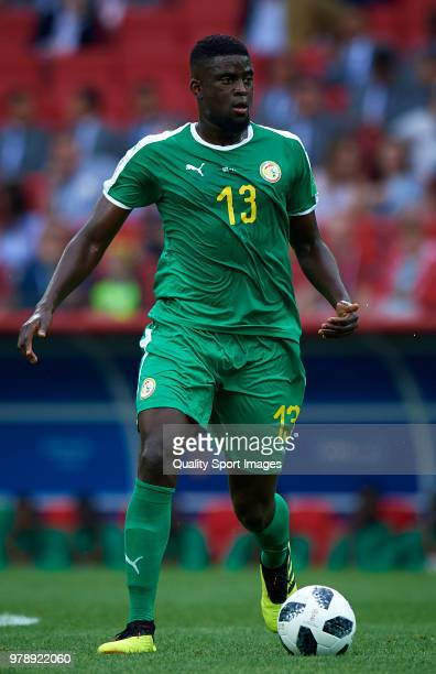 Alfred Ndiaye of Senegal in action during the 2018 FIFA World Cup Russia group H match between Poland and Senegal at Spartak Stadium on June 19 2018...