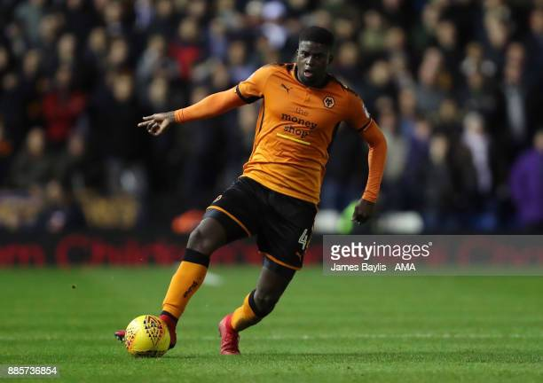 Alfred N'Diaye of Wolverhampton Wanderers during the Sky Bet Championship match between Birmingham City and Wolverhampton at St Andrews on December 4...