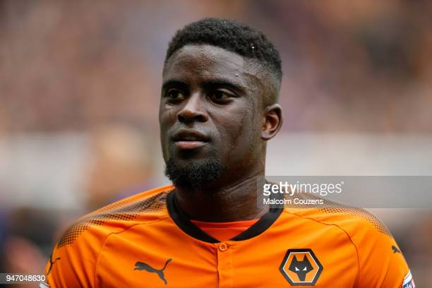 Alfred N'Diaye of Wolverhampton Wanderers during the Sky Bet Championship match between Wolverhampton Wanderers and Birmingham City at Molineux on...
