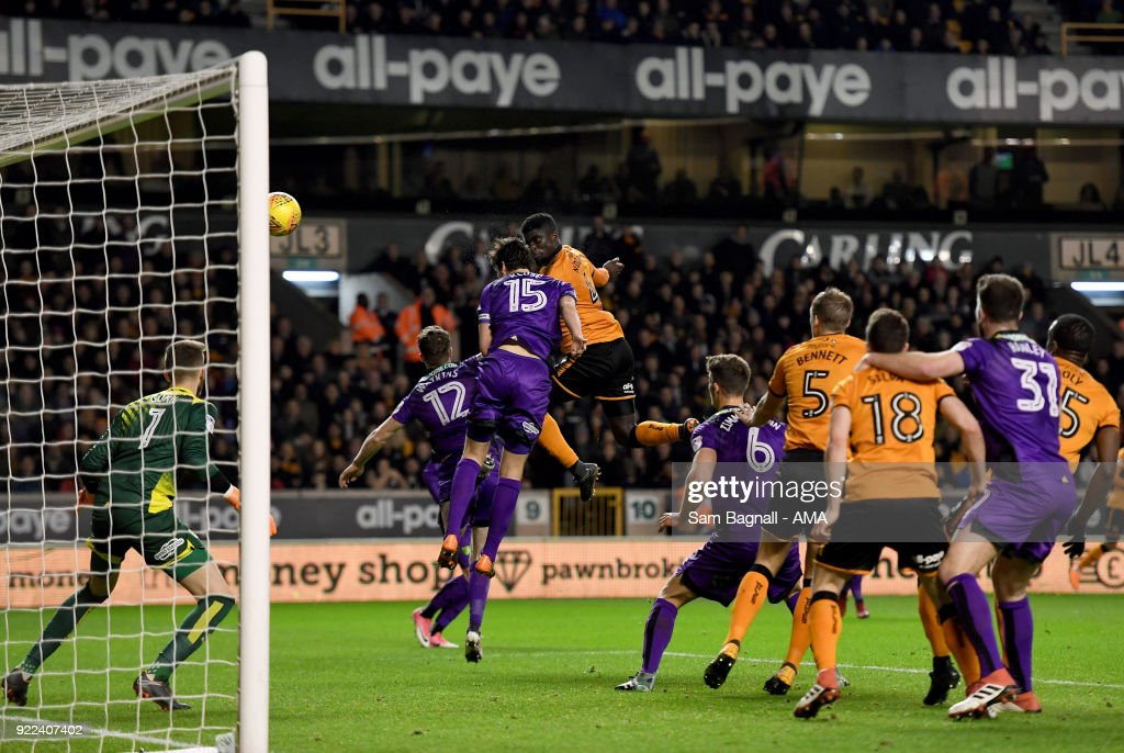 Wolverhampton Wanderers v Norwich City - Sky Bet Championship : News Photo