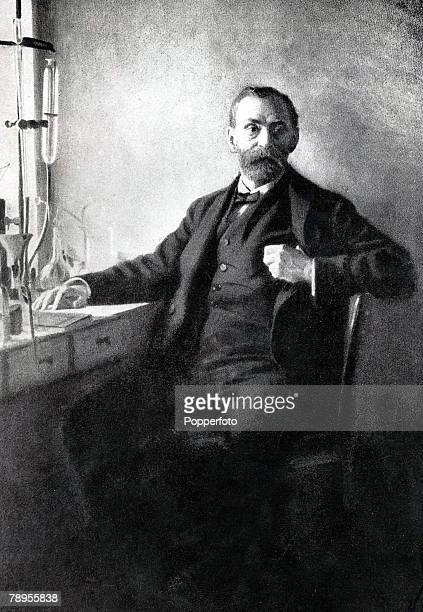Alfred Nobel Swedish chemist and manufacturer the inventor of dynamite and founder of the Nobel peace prizes
