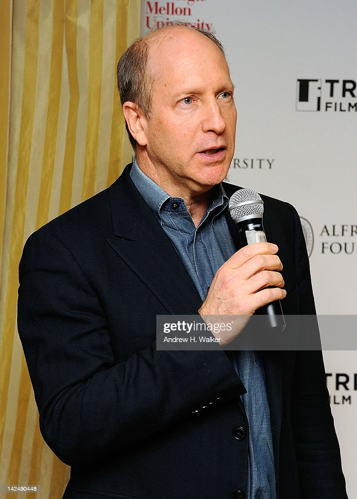 Alfred P. Sloan Foundation's Doron Weber speaks at the Tribeca Film Institute's Sloan Student Grand Jury Award Cocktails at RDV on April 5, 2012 in New York City.