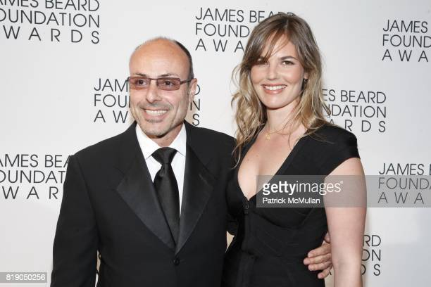 Alfred Portale and Sophie Leibowitz attend James Beard Foundation Awards 2010 at Lincoln Center on May 3 2010 in New York City