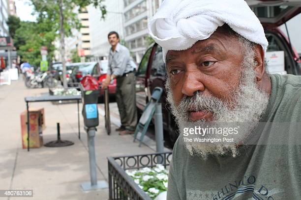 Alfred Postell hangs out in downtown Washington DC July 9 2015 He now lives on the streets despite graduating from Harvard Law School He was recently...